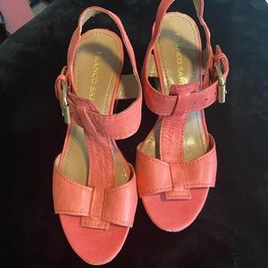 Franco sarto espadrille/wedge sandals